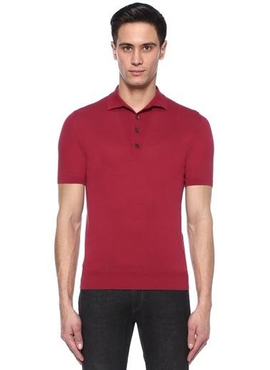 Luciano Barbera Tişört Kırmızı